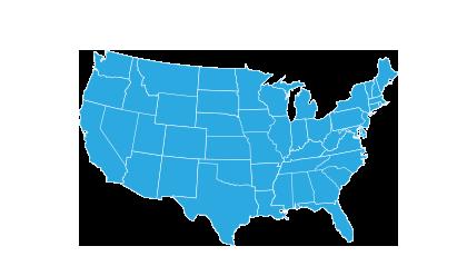 USA blue